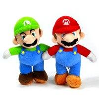 26cm Super Mario Plush Toy Doll Big Size Yoshi Luigi Toy Doll Movie TV Stuffed Plush