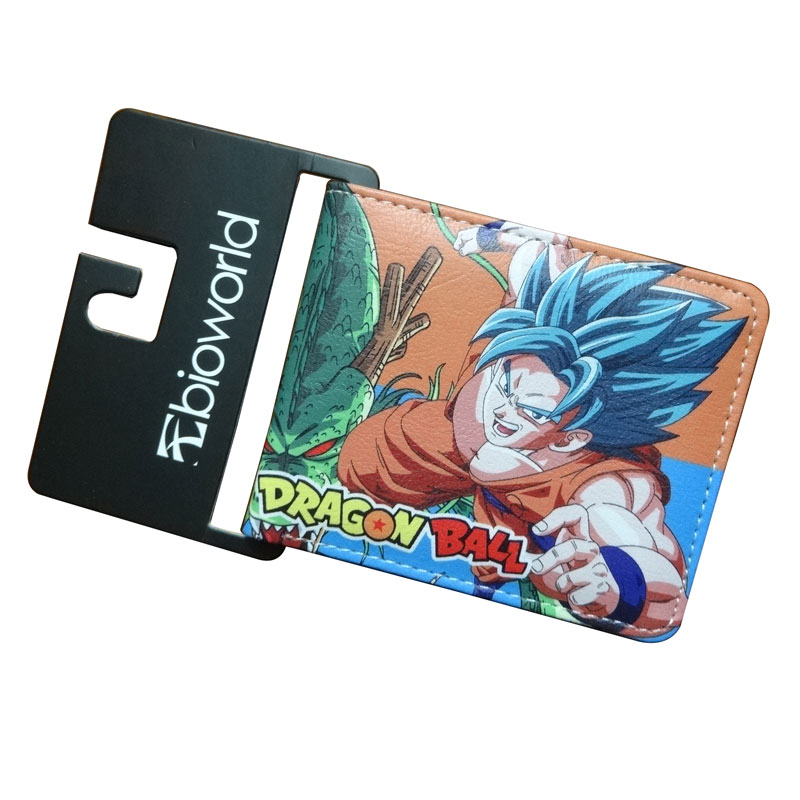 Hot Cartoon Anime Purse carteira masculina Dragon Ball Z Sun WuKong Wallet Dollar Price Men Women Card Holder Gift Kids Wallet hot cartoon anime purse carteira masculina dragon ball z sun wukong wallet dollar price men women card holder gift kids wallet