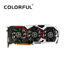 Colorful NVIDIA GeForce GTX iGame 1060 6GB 192bit Gaming GDDR5 PCI-E X16 3.0 Video Graphics Card DVI+HDMI+3*DP Port Overclocking(China)