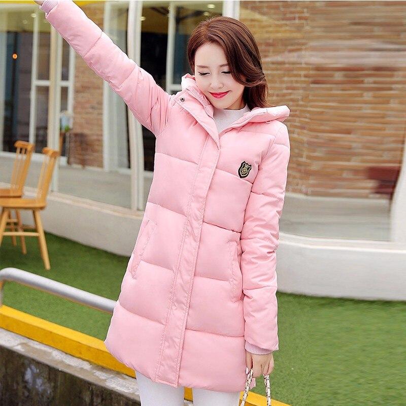 2016 Winter Coat Women Hooded Cotton Padded Plus Size Wadded Warm Outwear Jackets And Coat Female