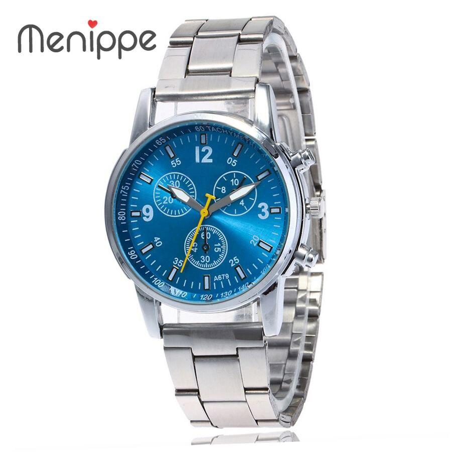 New Top Luxury Watch Women Dress Watch Men's Watches Stainless Steel Mesh Band Quartz Wristwatch Fashion Ladies Casual Watches