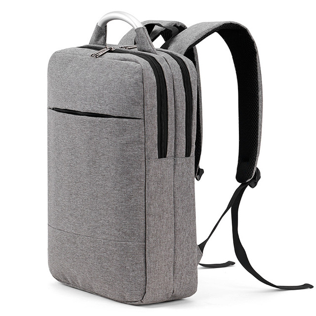 Men S Backpacks Computer Bags Uni Women Simple Canvas Backpack Student School Business Multifunction Travel