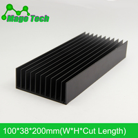 LED Aluminum Heatsink Plate Grow Light Radiator Cooling Cooler Fit Transistor IC Thermal Conductivity LED Radiator Electronics