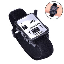 Golf Score Stroke Counter Count Watch Putt Counter Scoring Device with Wristband XR-Hot c lin hhj4 n standard steel straightening machine for non count counter memory recalls optional ac380
