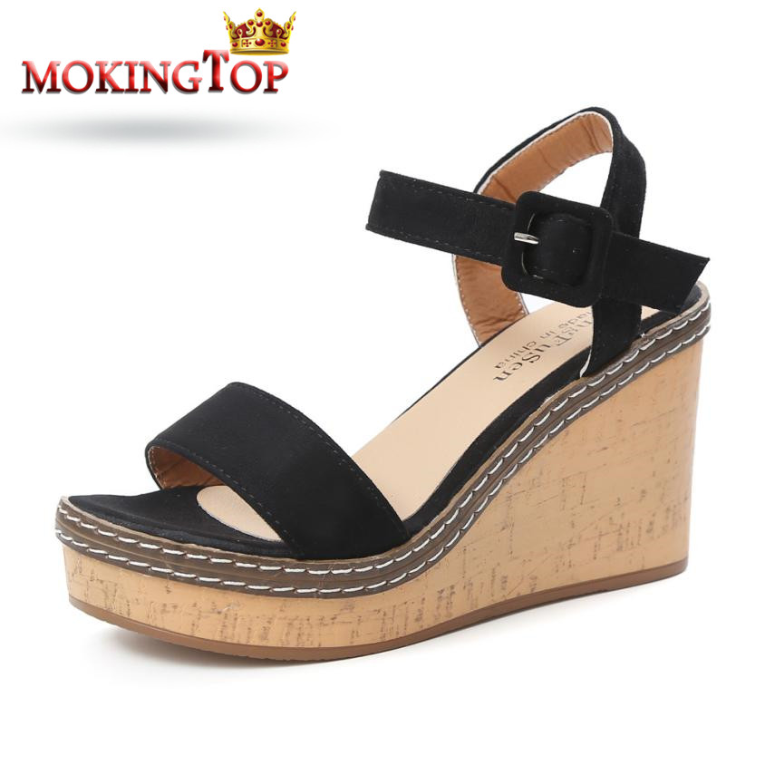 MOKINGTOP Summer Fish Mouth womens high heel sandals elegant Heels Party Shoes summer 2018 womans Ankle Sandal shoes#WS лоферы ws shoes ws shoes ws002awydv98 page 1