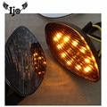 Tmax поворотники аксессуары для мотоциклов регби светодиодная мини-лампа для поворота мото Модифицированная низкая ветростойкость копченая...