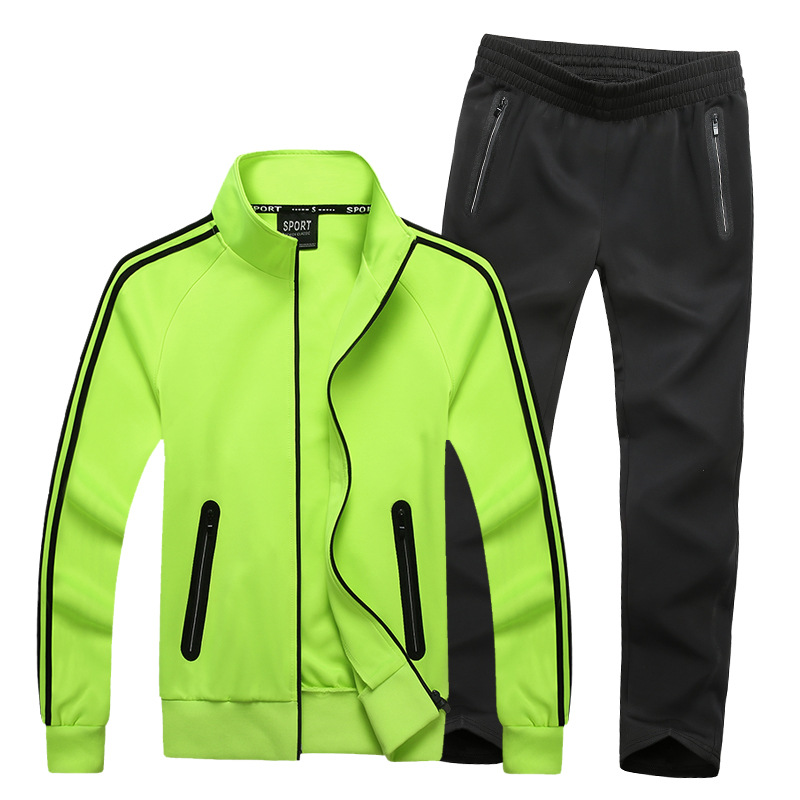 Mens Loose Style Sportswear Big Size Sportsuits 7XL 8XL Fitness Workout Tracksuit Set Gym Running Sport Suit Student Couple Suit kangfeng жёлтый цвет 7xl