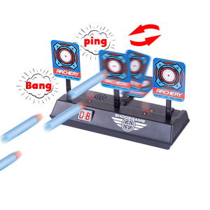 Image 5 - New Arrive Aim Shooting Target Scoring Auto Reset Demountable Electric Target for Orbeez Paintball Shooting Training Accessories