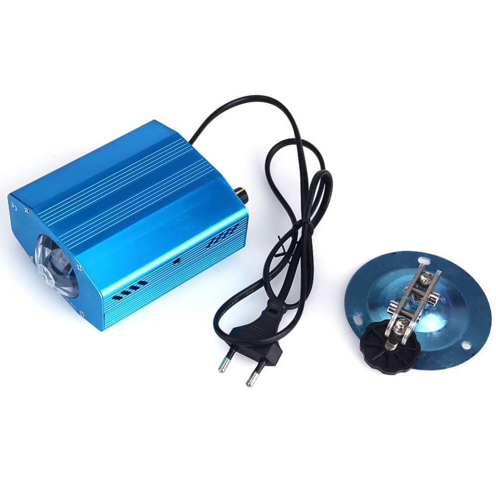Blue Water Wave Effect Ripple Projector 3W Led Stage Light for Party Light Show Home Entertainment KTV Background