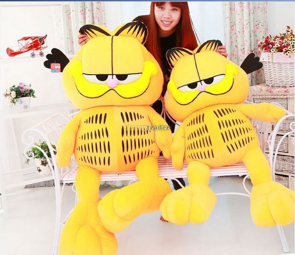Fancytrader 49\'\' 125cm Super Funny Big Stuffed Soft Plush Lovely Giant Garfield Cat, Free Shipping FT50713 (9)
