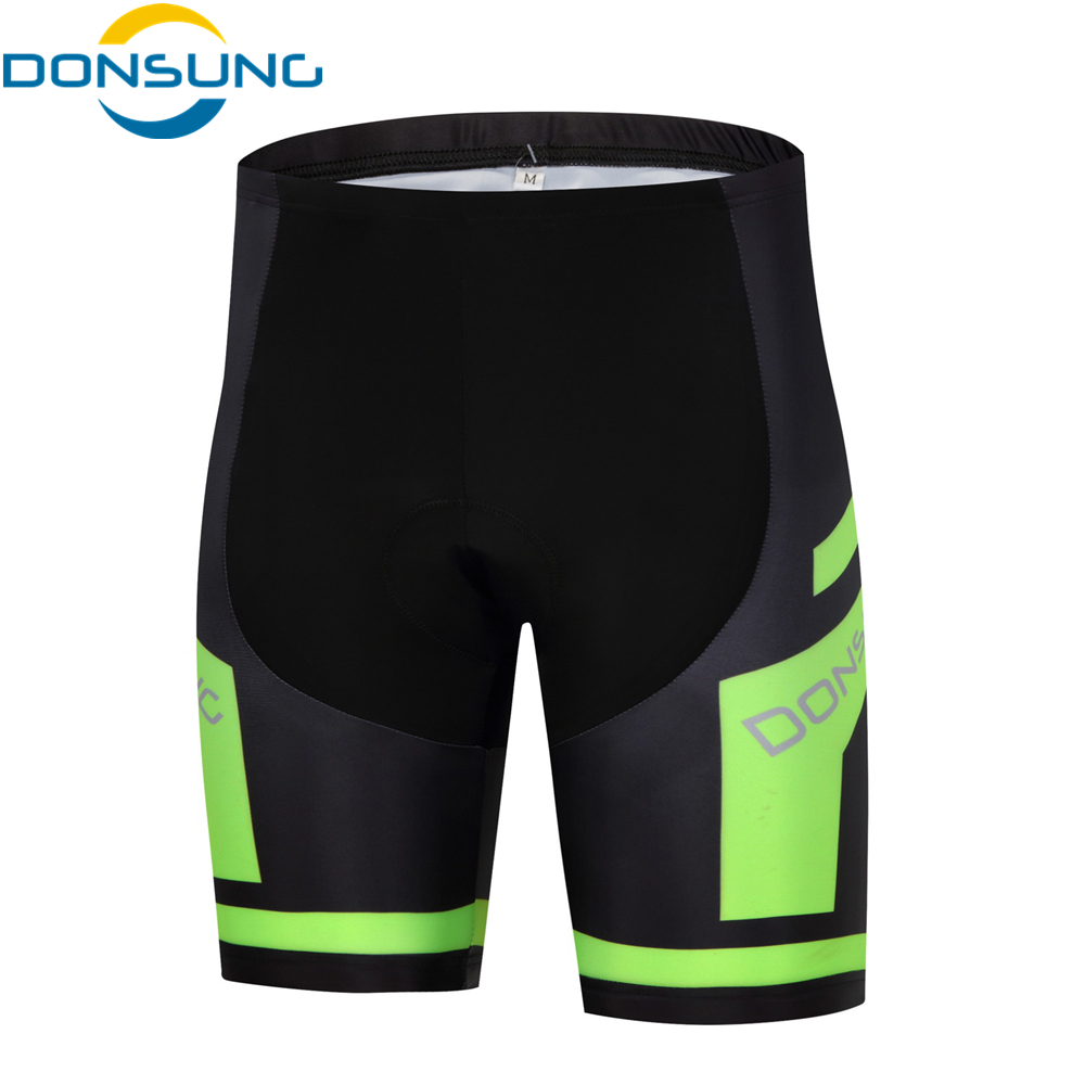 DONSUNG Cycling Shorts Men With 3D Padded Shockproof MTB Road Bike Shorts Bisiklet Pro Shorts Trousers Reflective ciclismo
