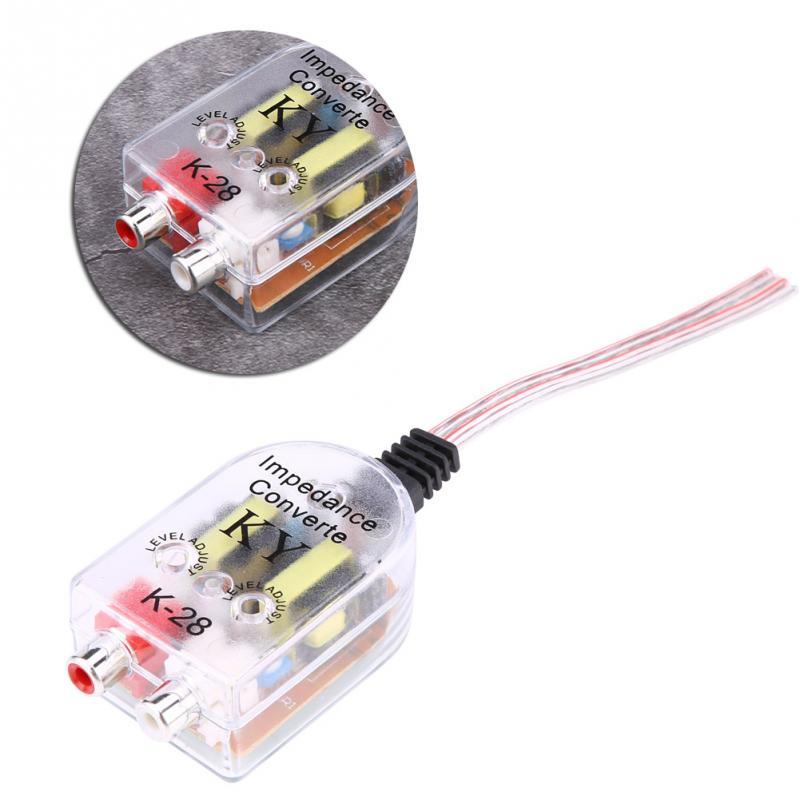 Motors Vehicle Parts & Accessories RCA Line Level Converter Remote ...