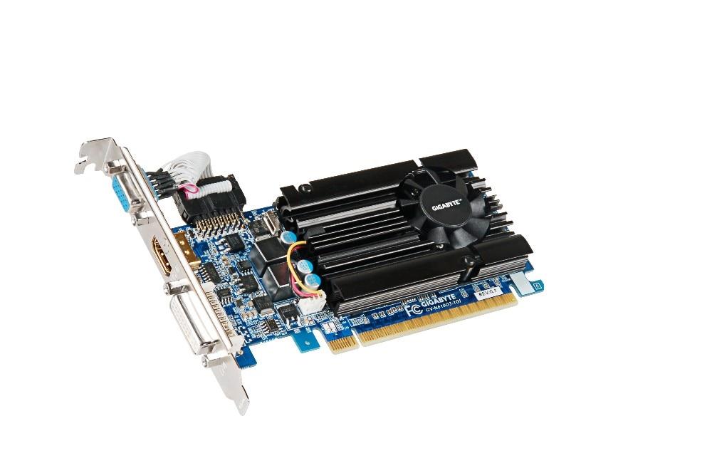 Gigabyte GV-N610D3-1GI Graphics Cards 64 bit GT 610 1 GB GDDR3 HDMI DVI VGA For Nvidia Geforce GT610 Original Used Video Card(China)