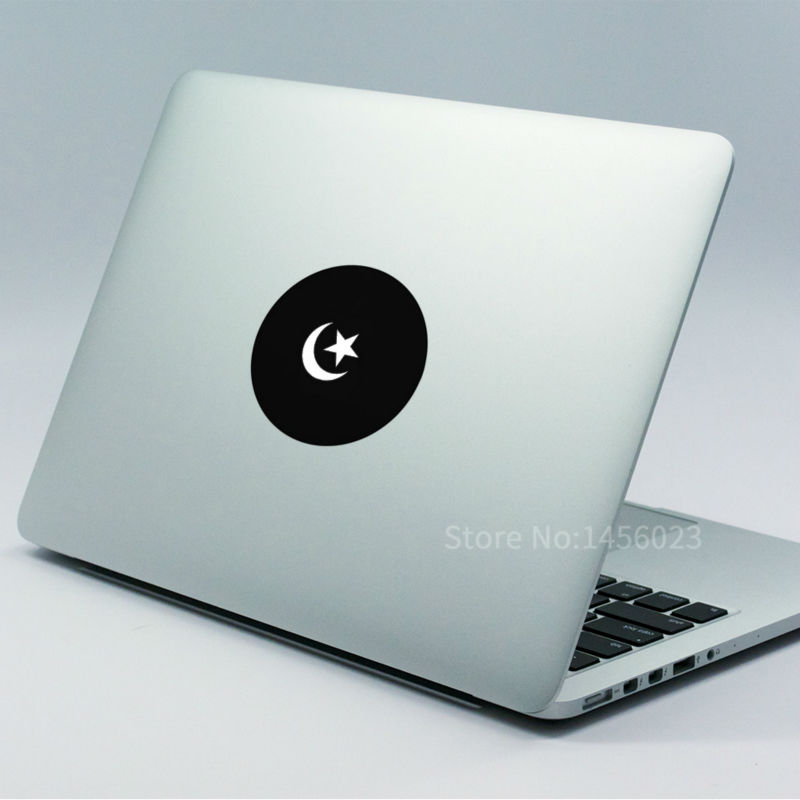 Islam Muslim Symbol Light Vinyl Laptop Decal For Apple Macbook Air