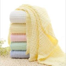 6 שכבת תינוק שמיכות מוסלין חיתול 100% כותנה סוודר לעטוף עבור תינוקות תינוקות אופי פרח מודפס קוטן שמיכה