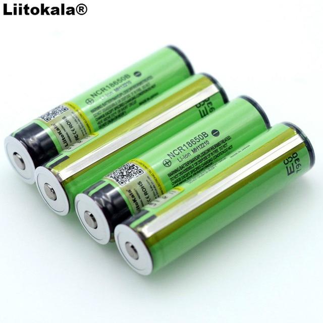 Liitokala 18650 3,7 В 3400 мАч NCR18650B для аккумуляторная Lthium Батарея защиты доска подходит фонарик Батарея