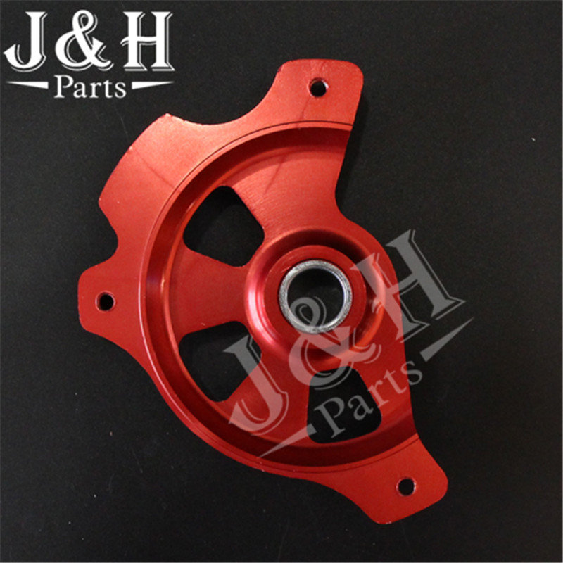 Front Brake Disc Rotor Guard Protector Cover Dirt Pit Bike Motorcycle  For 125-530SX SX-F XC XC-F EXC TE125 250 30 front plastic number plate fender cover fairing for honda crf100 crf80 crf70 xr100 xr80 xr70 style dirt pit bike