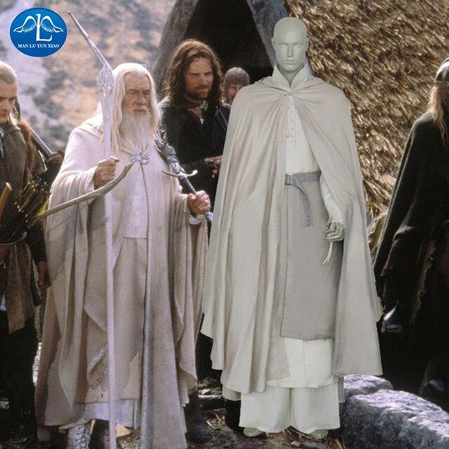 Señor De Los Anillos de los hombres Gandalf Cosplay de Halloween Para  Adultos de Navidad de bc3e35225a4