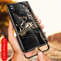 Для Xiaomi mi x 3 чехол с изображением дракона из закаленного стекла Aixuan взрывозащищенный чехол для Xiaomi mi x 3 mi x3 противоударный стеклянный чехол