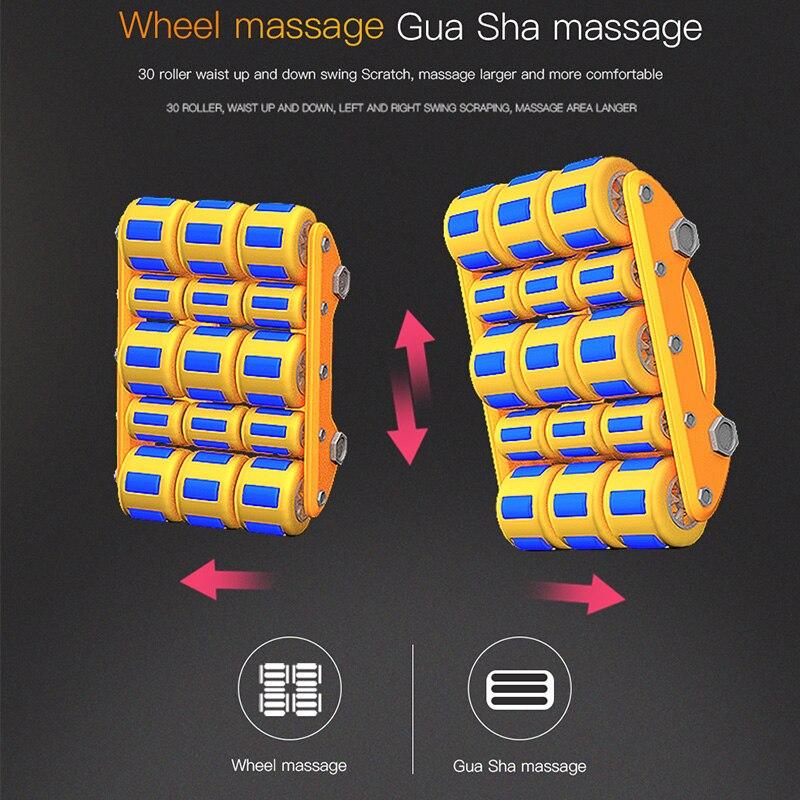 Silla de masaje almohadilla cervical Dispositivo de masaje cuello almohadilla de masaje multifuncional de hogar almohada cojín de cuerpo completo - 3