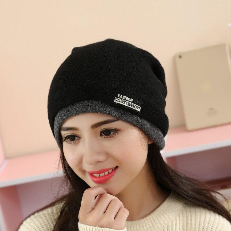 2017 Fashion New Winter Women Hats Girl Scarf Hooded -3078