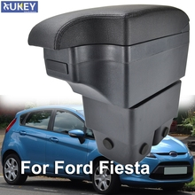 Armrest Case For Ford Fiesta 2009   2017 New Black Central Store Box 2010 2012 2014