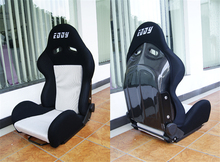 One Lot/2 Pcs Adjustable Series Racing Seats SPC Carbon Fiber Frame Black Blue Red Alcantara Suede Cloth