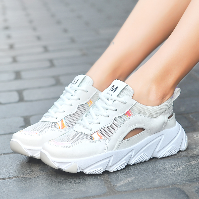 Women Sneakers 2019 Summer Sport Shoes Woman Running Sneakers Comfortable Casual Shoes Running Shoes for Women Female sneakers in Running Shoes from Sports Entertainment