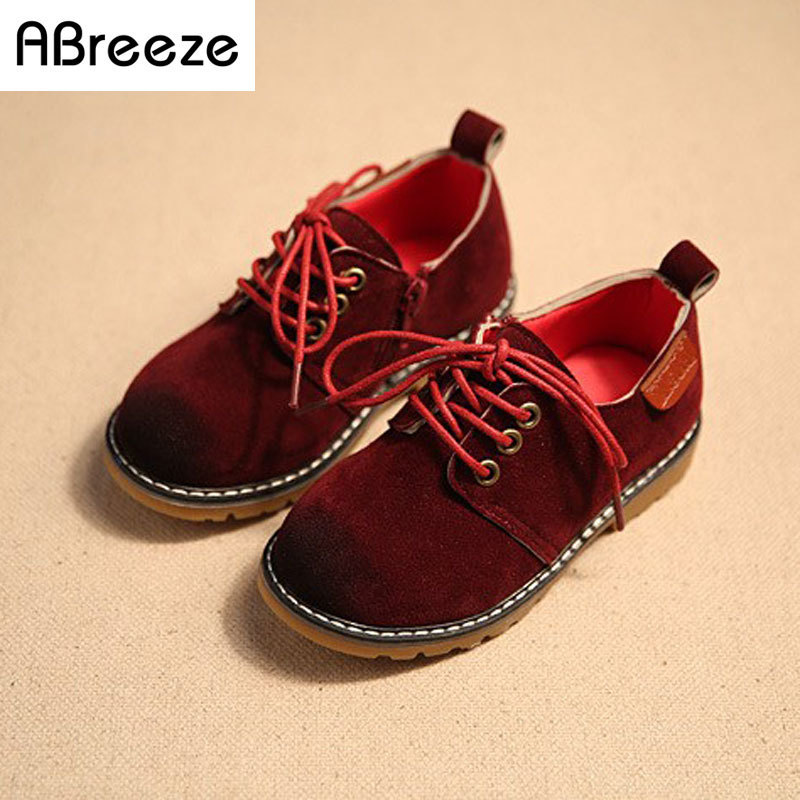 Vintage S Toddler Leather Shoes
