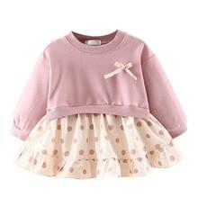 New Arrival Baby Girls Dresses Long Sleeve Plaid Dress For Girls Kids Children Princess Clothes Dresses Spring