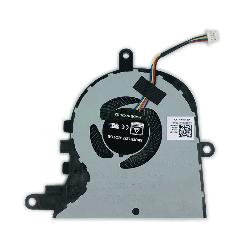 New original CPU cooler fan for Dell inspiron 15 5570 5575 Laptop Cooling fan FX0M0 cn-0FX0M0 DC28000K9FO DFS1503055P0T FK3A image