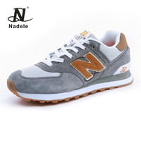 Nadele Running Shoes Mens Gray Sneakers Breathable Outdoor Athletic Lifestyle Comfortable Walking Sports Training Jogging Shoes