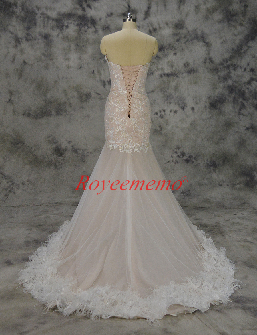 1f46244fa7a mermaid lace wedding dress sexy transparent skirt wedding gown custom made  factory wholesale price
