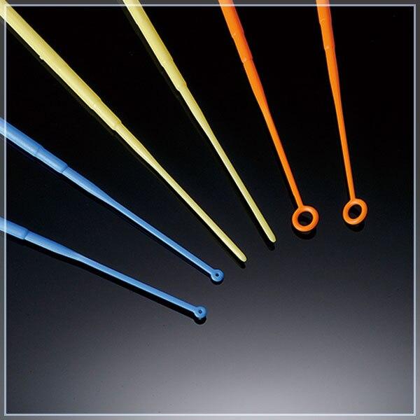 25 Pieces Lab Disposables Plastic 10ul Inoculating Loops