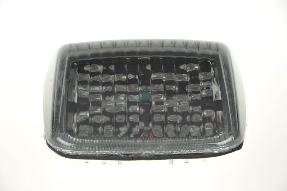 Светодиодный тормозной фонарь для HARLEY DAVIDSON DEUCE - Цвет: Темно-серый