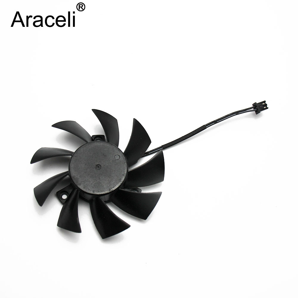T128015SH 75MM 2P 2Pin DC 12V 0.32AMP Cooling Fan For EVGA GTX650 <font><b>GTX650TI</b></font> Graphics Video Card Cooling Fan image