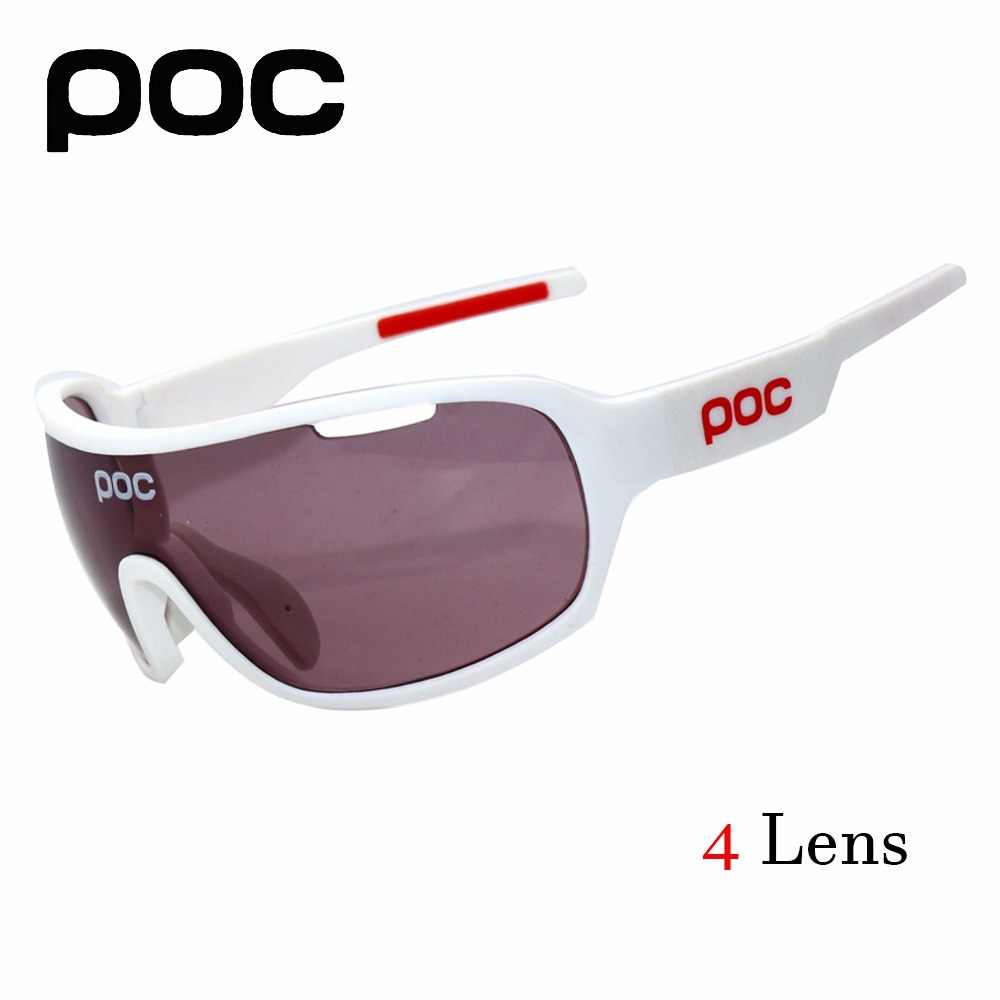 dfd431532a POC gafas de sol polarizadas gafas de 2017 gafas de ciclismo 4 lente  polarizada deporte de