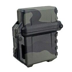 Tactical Lighter Shell futerał do przechowywania lżejszy pojemnik Organizer do Zippo bojler Outdoor Camping narzędzie survivalowe