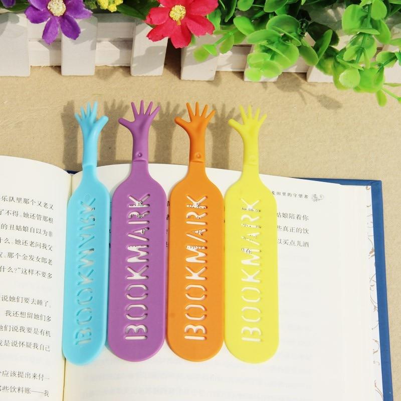 400 pcs/lot Help Me Colorful hands design Bookmarks set plastic novelty Item creative gift for kids chidren free DHL shipping