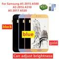 Для Samsung Galaxy A520 A520F SM-A520F A5 2017 2015 2016 A510 A500 ЖК-дисплей сенсорный экран дигитайзер стекло в сборе бесплатные подарки