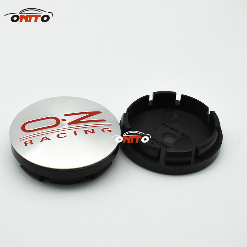 Image 3 - 4pcs oz racing 56mm 60mm O.Z OZ Sticker Wheel Center Hub Caps Wheel Dust proof emblem covers label for skoda audi v w toyota-in Wheel Center Caps from Automobiles & Motorcycles