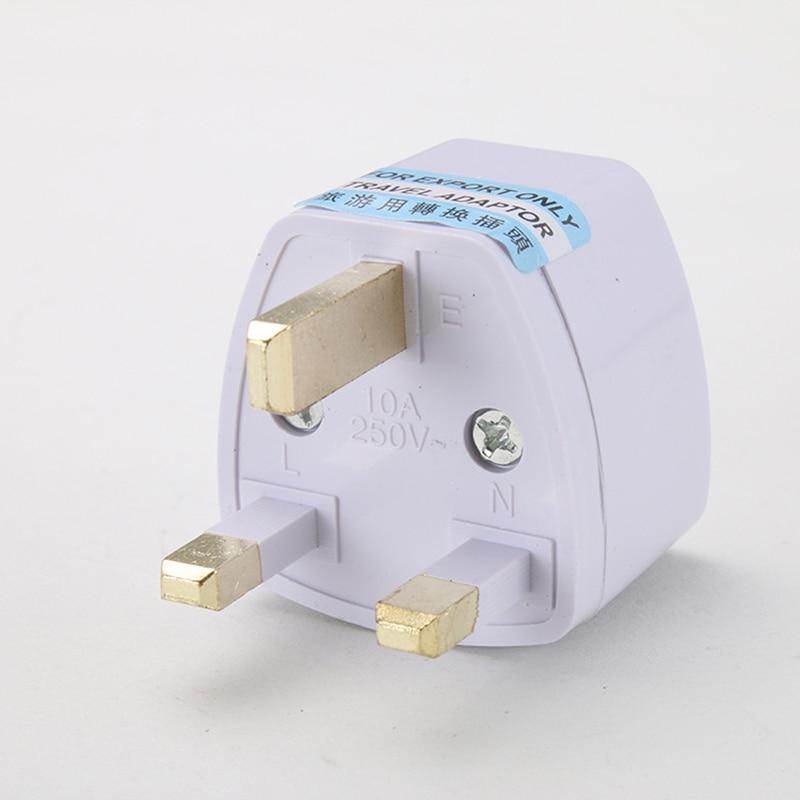 Universal EU South Korea Plug Adapter Converter US AU To UK Travel Power Electrical Socket Outlets