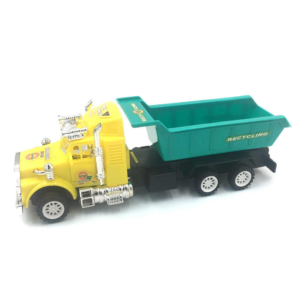Engineering Car Model Tractor Toy Dump Truck Model Classic Toy Vehicles Mini Gift For Boys Diecast Model