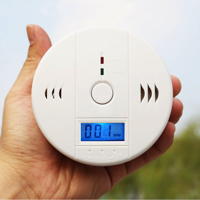 High Quality Home Safety CO Carbon Monoxide Poisoning Smoke Gas Sensor Warning Alarm Detector Kitchen