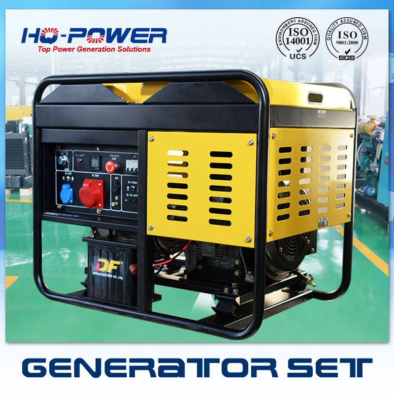 Air Cooled Diesel Generator Home Use open type Diesel Generator 10KW