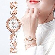 Lvpai Brand New Bracelet Watches Women Luxury Crystal Dress