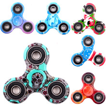 Hand Spinner Fidget Toy for Autism and antistress fidget Spinner Anti-Stress 16 Kinds of Color spiner ,Stress Wheel HandSpinner(China)