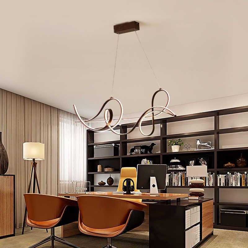 Lámpara colgante neogleam luces colgantes Led modernas para cama Comedor Cocina suspensión luminaria lámpara colgante? Yrandol