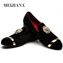 цены MEIJIANA Loafers Summer Fashion Slip On Mens Dress Shoes Breathable Casual Shoes Men Loafers Men's Slippers Prom Shoes
