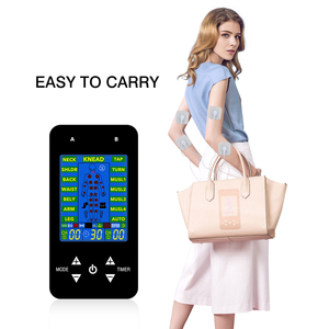 Image 5 - FDA TENS Unit Electronic Pulse Massage 15 Models 2 Channels LCD EMS Massager Back Neck Stress Sciatic Pain and Muscle Relief